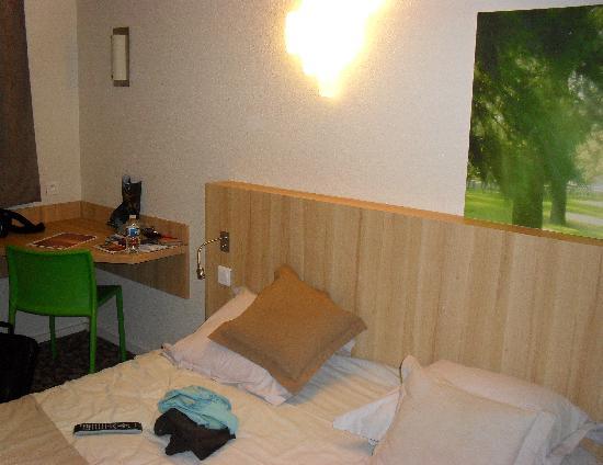 Hotel balladins Bobigny: Habitacion - cama