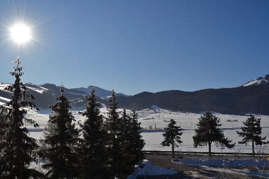 Rivisondoli, Italia: Vista dalla mia camera