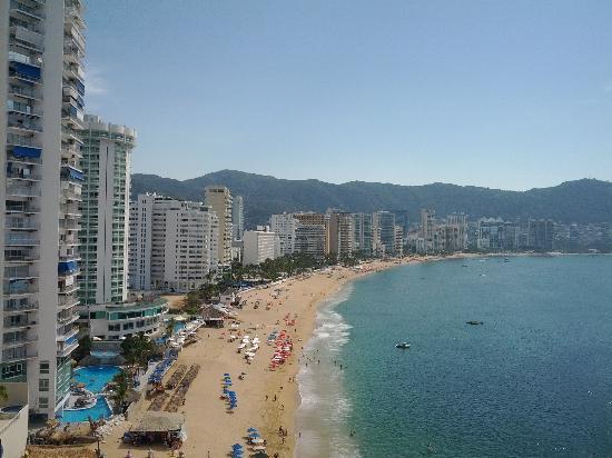 Hotel El Presidente Acapulco: Balcony View