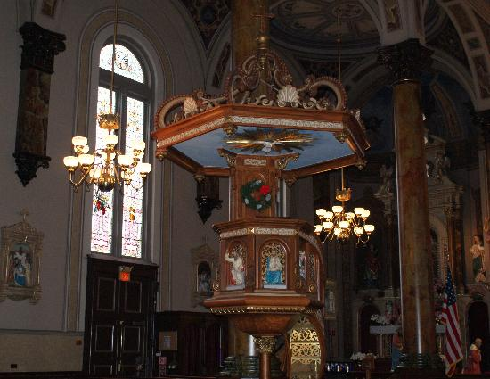 Shrine of St. Joseph: The Pulpit