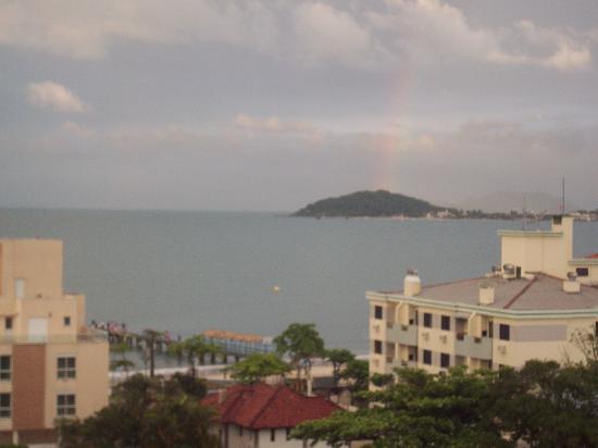Mar de Canasvieiras Hotel & Eventos: hermosa la vista desde el area de la piscina