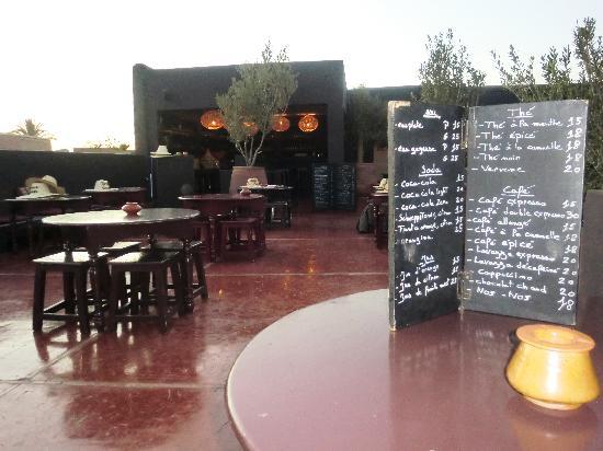 Cafe La Terrasse Marrakech Cartier Love Online