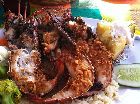 Hotel La Quinta del Sol: Lobster!
