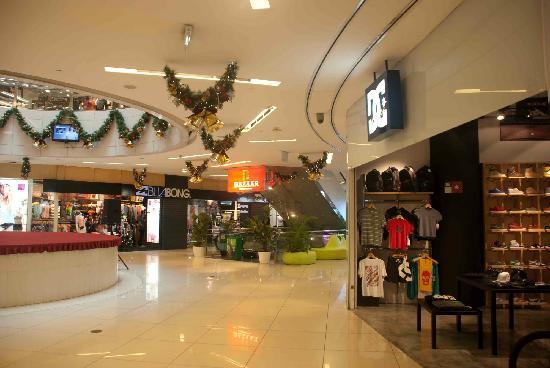 Inside The Heeren shopping centre