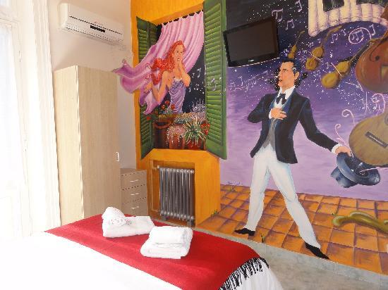 """Ayres Portenos Tango Suites: Double Room """"La Serenata"""""""