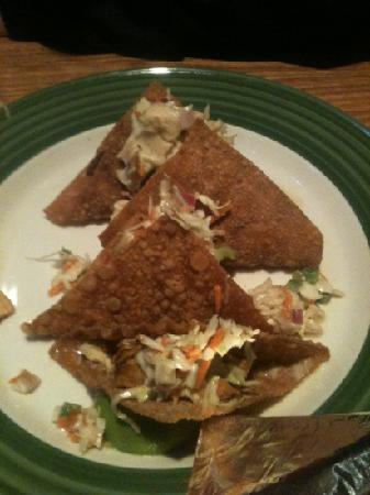 Applebee's: chicken wonton tacos