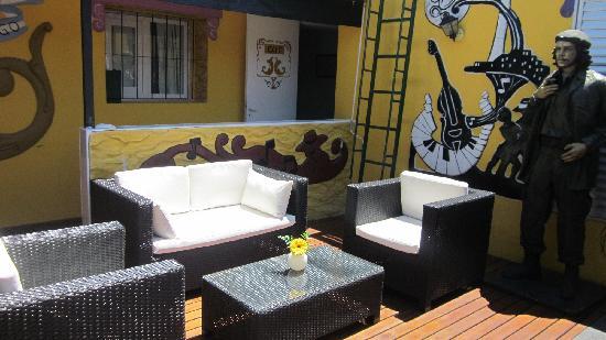 Ayres Portenos Tango Suites: Deck