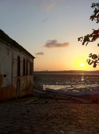 São Luís, MA: por-do-sol palácio dos leões