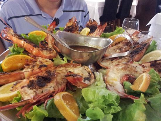 Restaurante 31 de Janeiro: Camarão trige grelhado