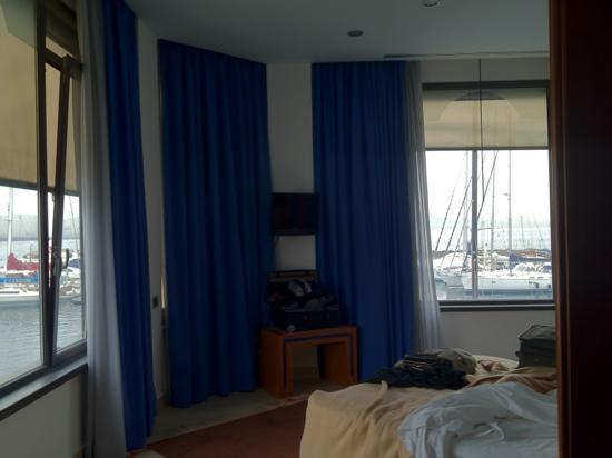 Hotel Transatlantico: Inside our bedroom