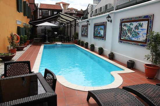 Yeng Keng Hotel: Swimming Pool