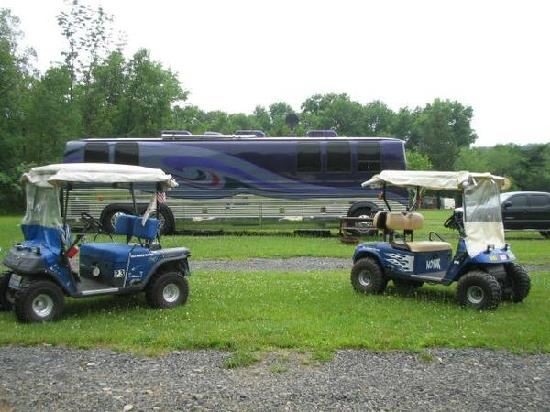 Foxwood Family Campground: The Toyz !!!