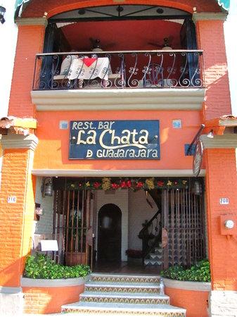 La Chata : Outside the restaurant