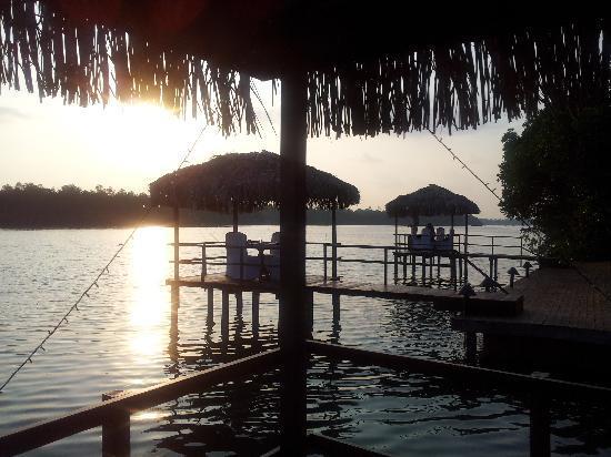 Dalmanuta Gardens - Ayurvedic Resort & Restaurant: Sun Down