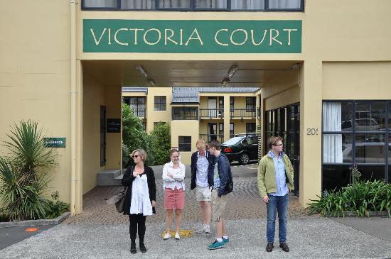 Victoria Court Motor Lodge : Great location