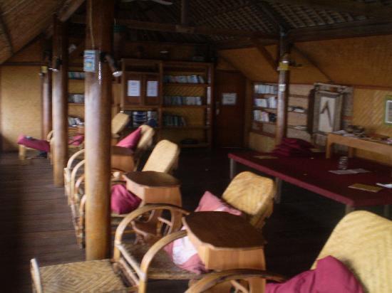 Villa Agung Beach Inn: The library