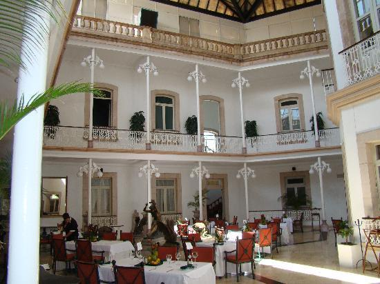 Gran Hotel Alameda: The restaurant