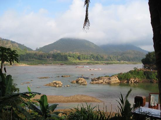 Mekong Riverview Hotel: View from the breakfast patio