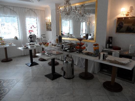 The Zillers Boutique Hotel: Breakfast buffet