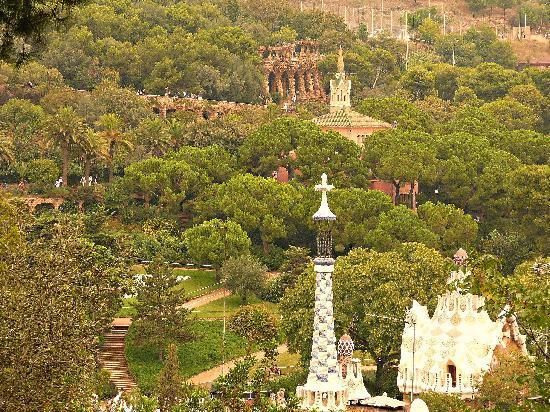 Barcelona, Spanyol: Park Guell