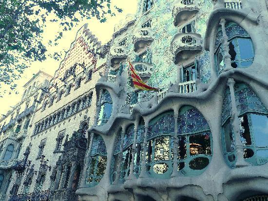 Barcelona, Spanien: Casa Batllo