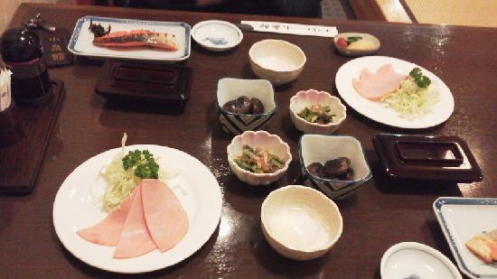 Koizumikan: 朝食