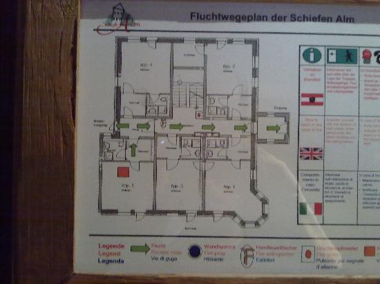Schiefe Alm: floorplan