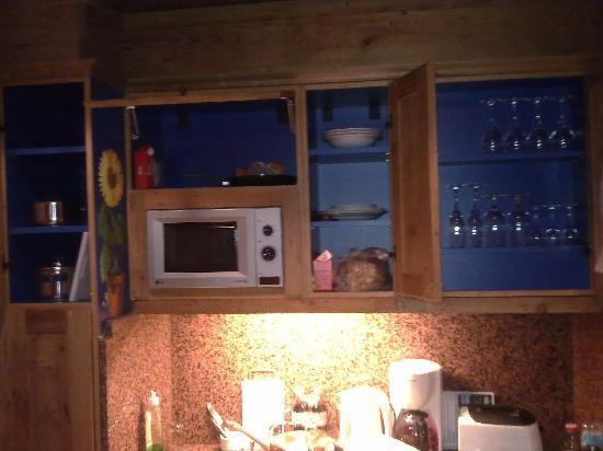 Schiefe Alm: kitchen1