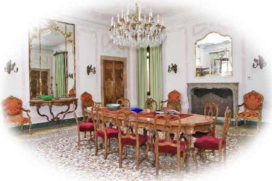 Ca' Zanardi: Salone delle Colazioni