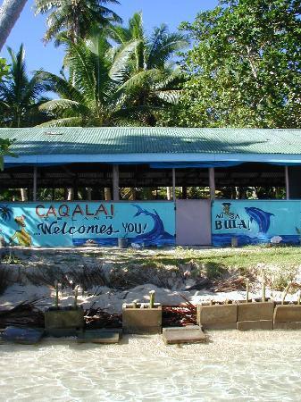 Caqalai Island Resort: Bula vinaka vakalevu