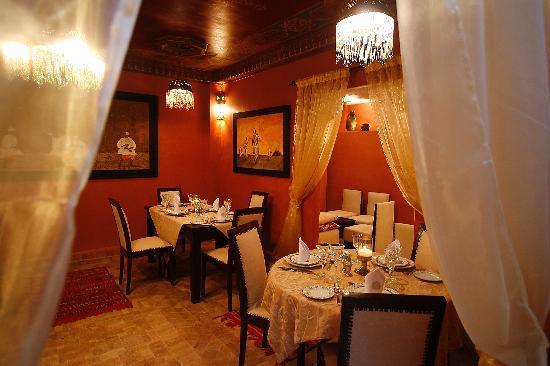 Riad Al Rimal: salle à manger