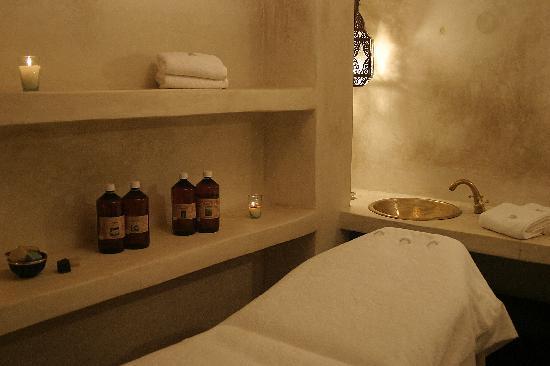 Riad Al Rimal: salle de massages