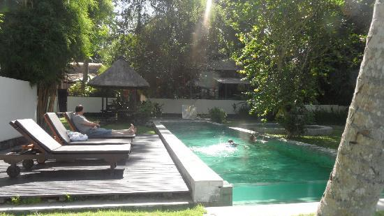Bali T House: Another pool view