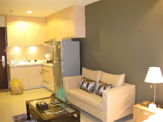 Viva Garden Serviced Residence : Living Room