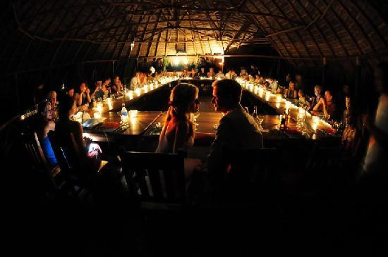 Iguana Lodge: Wedding Dinner