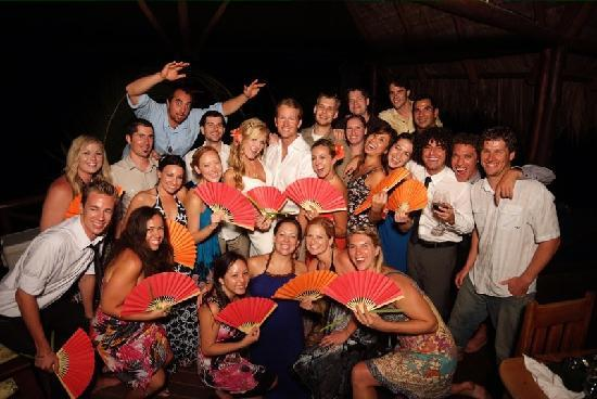Iguana Lodge: Wedding Party