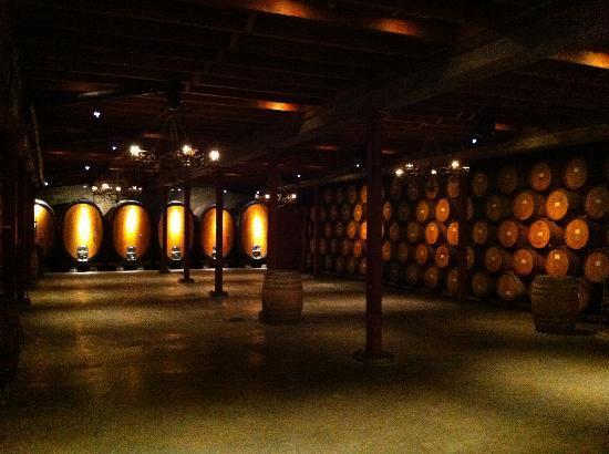 Barrel Room - Picture of V. Sattui Winery, St. Helena - TripAdvisor