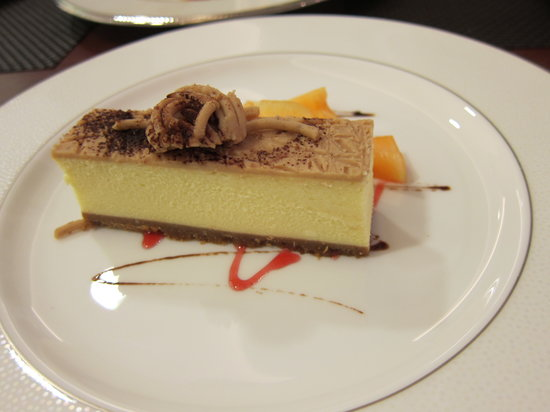 chestnut cheesecake - Picture of niji bistro, Hong Kong - TripAdvisor