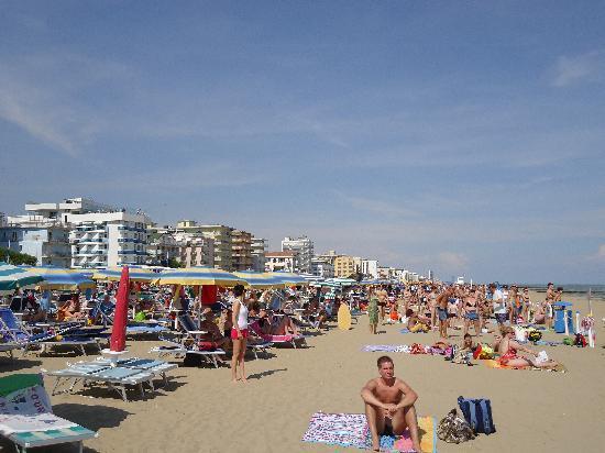 هوتل جاردينيا: the beach 80 mtrs away