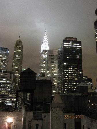 Night View from the roof