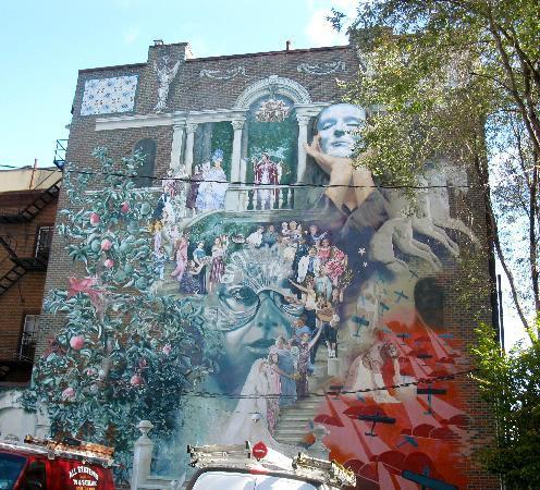 Mural Arts Program of Philadelphia - Mural Tours: Progress Of Women