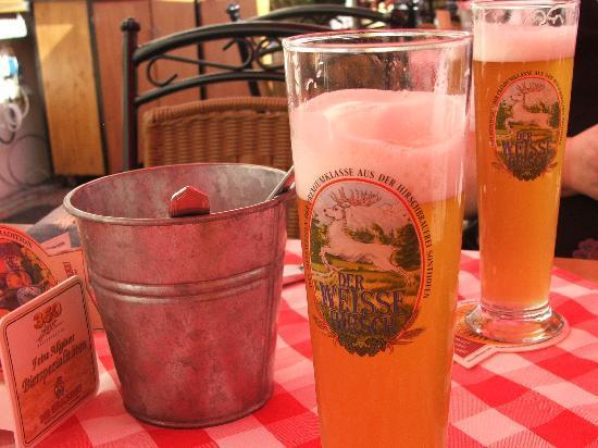 Hotel und Brauerei-Gasthof Hirsch: The Beer