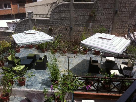 Lantana Resort & Spa: espace détente exterieur
