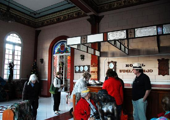 Pinar del Rio, كوبا: Lobby of Hotel Vueltabajo