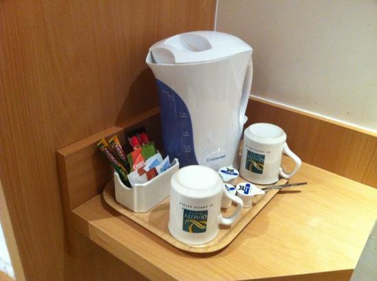 Quality Skyline: Thè e caffè offerti in camera