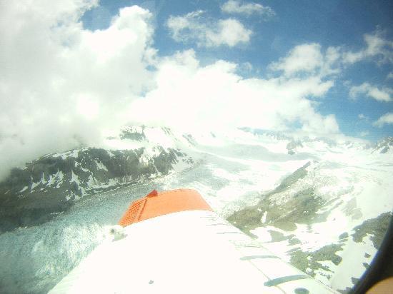 Skydive Fox Glacier : Views of the glacier and mountains