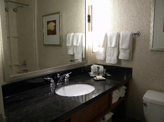 Hilton Lexington Downtown: Bathroom