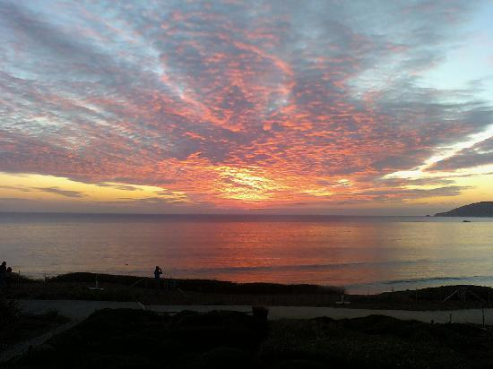Spyglass Inn Sunset 1-15-12