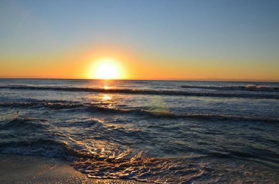 Lowdermilk Beach : Sonnenuntergang