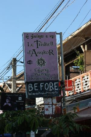 Le Triskell d'Angkor: la creperie